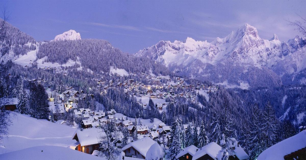 Villars gryon webcams m t o et enneigement agenda l 39 avis des interna - Hotel de montagne suisse ...