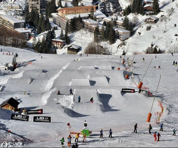 """Résultat de recherche d'images pour """"snowpark gourette"""""""