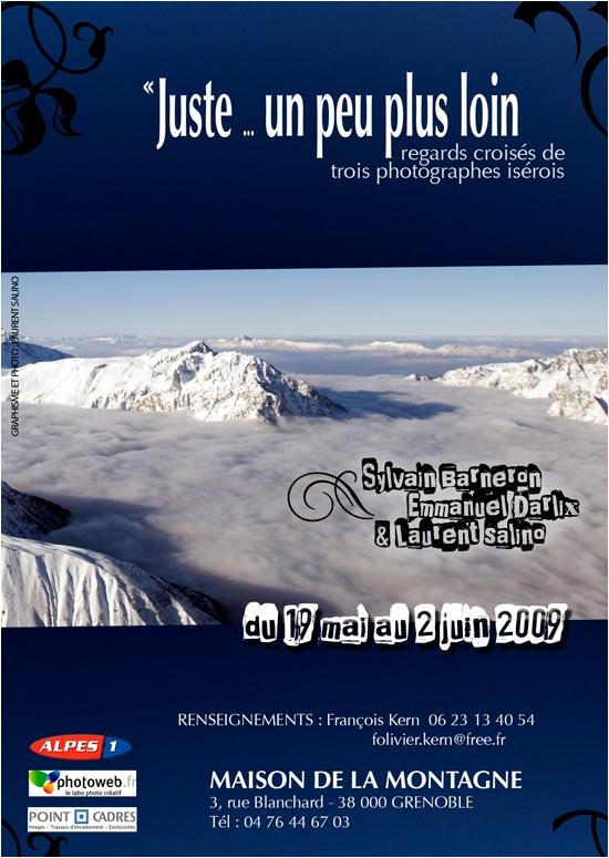 Expo photo sylvain barneron maison de la montagne de grenoble freeride montagne chasseur d'image chasseurs d'images