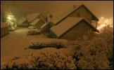 29 octobre 2008 - on passe aux choses sérieuses, la neige débarque en force à Lans en Vercors ...