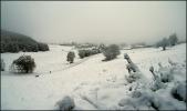 29 octobre 2008 - on passe aux choses sérieuses, la neige débarque en force à St Nizier du Moucherotte ...