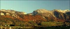 Plateau de Lans en Vercors, 10 octobre 2008