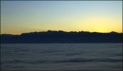 Mer de nuages au dessus de Grenoble, 24 octobre 2008