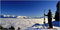 Ski de rando le 3 janvier 2009