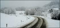 7 février 2009, retour de la neige sur le  plateau !