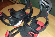 Fixations de snow union binding et nitro raiden