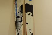 Skis Faction Alias 100 + Fixations Marker Griffon