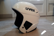 Casque ski UVEX Race+ FIS approved Blanc 58-59cm