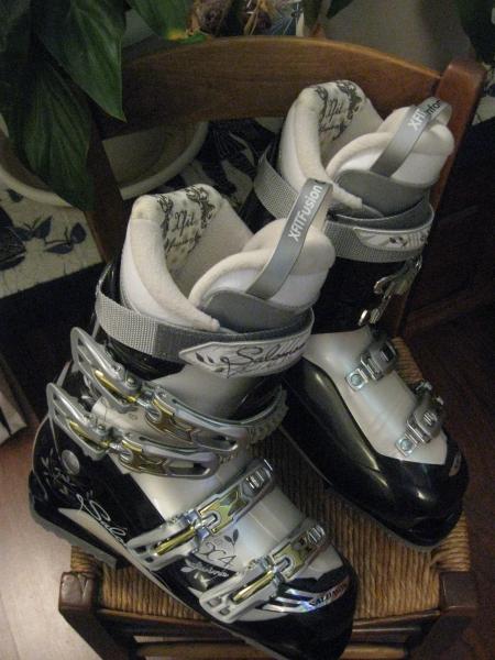 Vends Chaussures ski femme salomon Divine X4