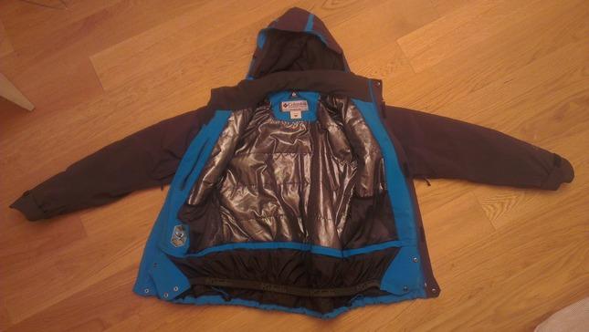 Royaume-Uni large éventail prix raisonnable Vends Veste de Ski COLUMBIA black ice II grise et bleue
