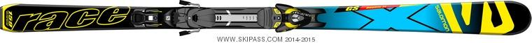 Salomon X-Race Jr GS + Z10