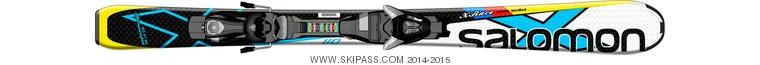 Salomon X-Race Jr S + EZY5
