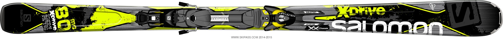 Salomon X-Drive 80 MG + Z10
