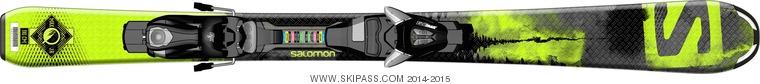Salomon Q-Max Jr S + EZY5