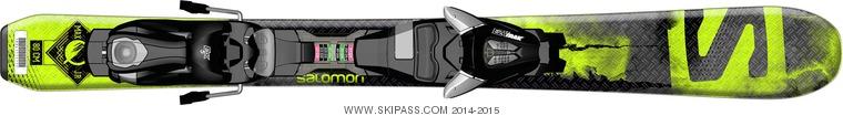 Salomon Q-Max Jr XS + EZY5
