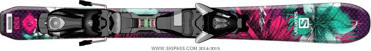 Salomon Q-Lux Jr XS + EZY5