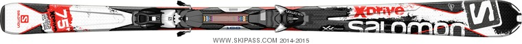 Salomon X-Drive 7.5 R + L10