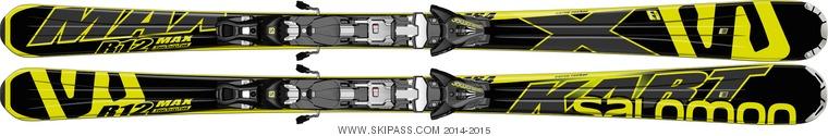 Salomon X-Kart Max + Z12 Speed