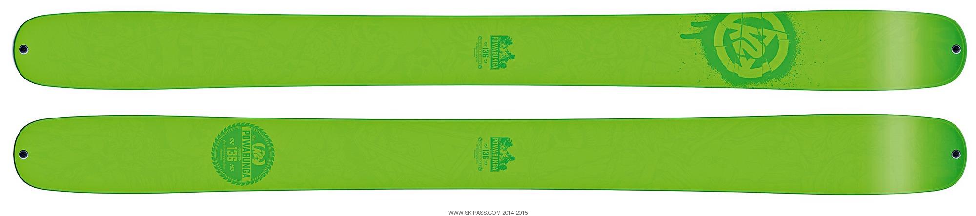 K2 Shreditor 136 (Powabunga)
