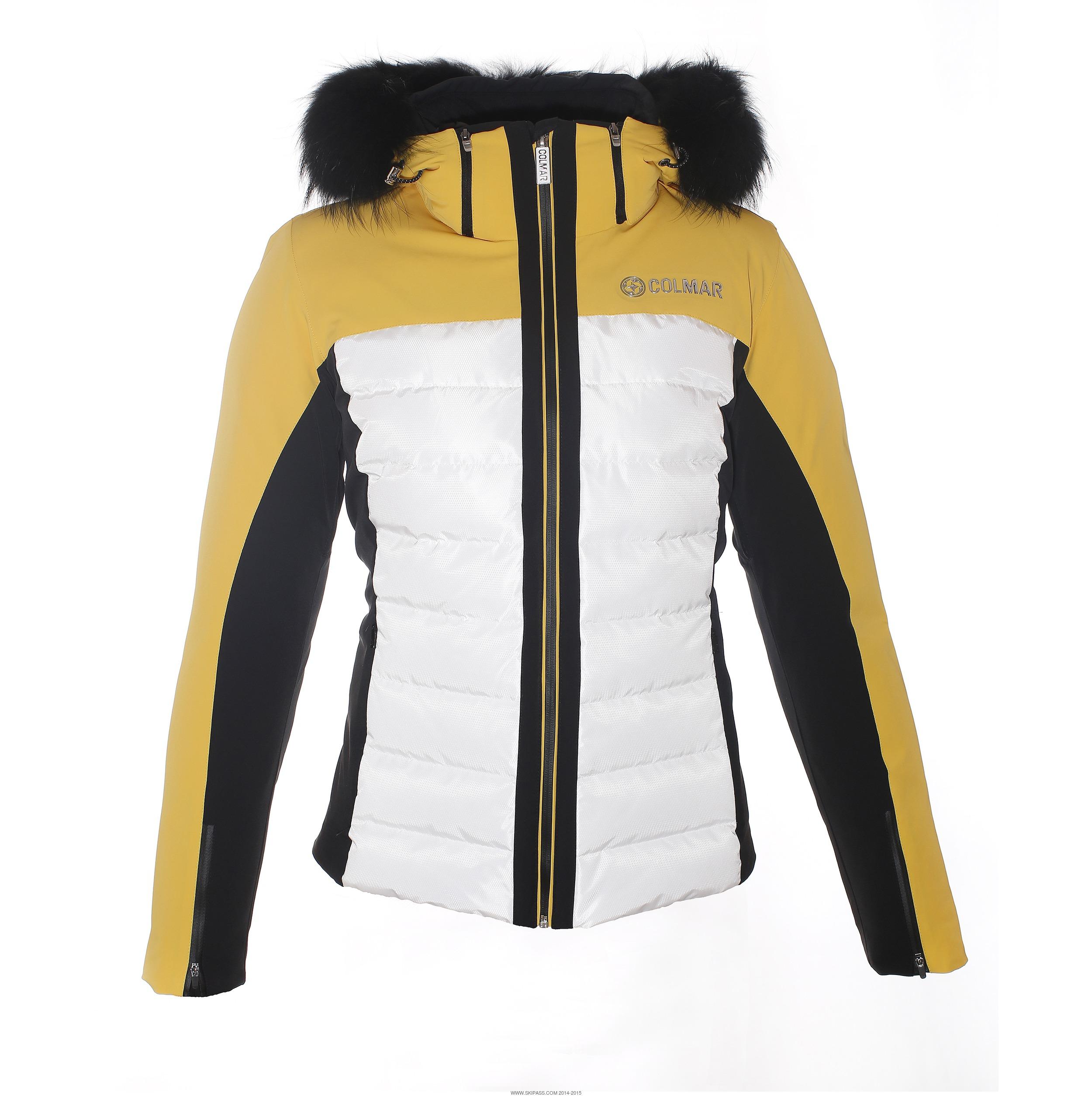 Veste ski colmar jaune
