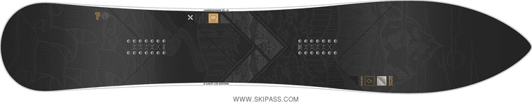 Dupraz Longboard 6' X-light