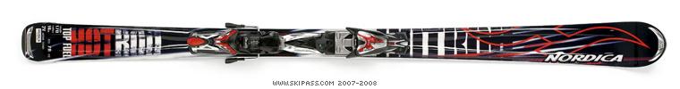 Nordica hot rod top fuel XB Alu ADJ