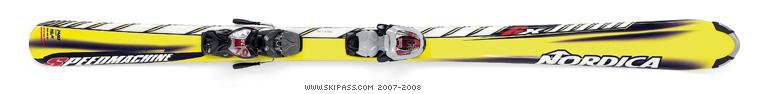 Nordica speedmachine  6x