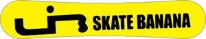 Lib Tech Skate Banana  10 years retro