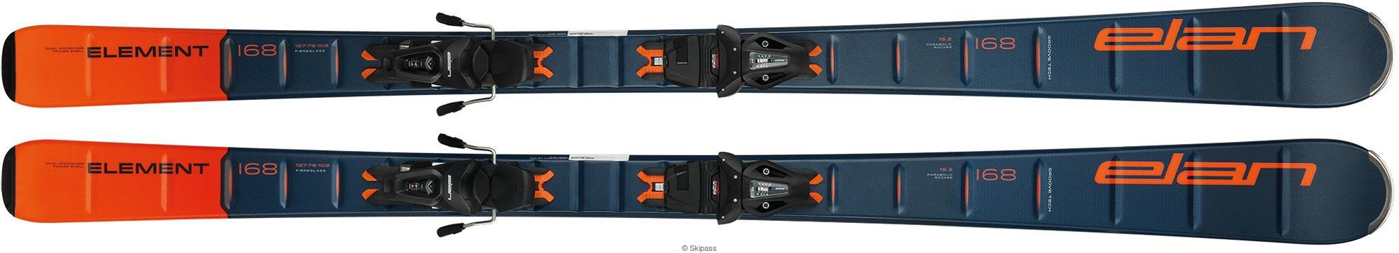 Elan Element blue orange