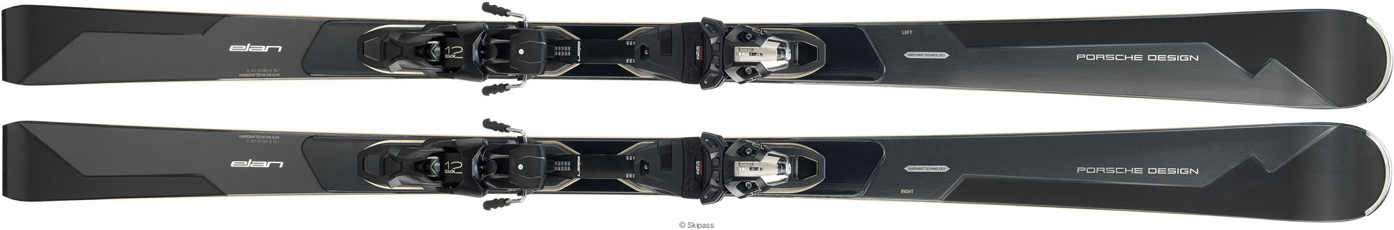 Ski Elan Amphibio Porsche Fusion X + EMX 12.0 2020 160