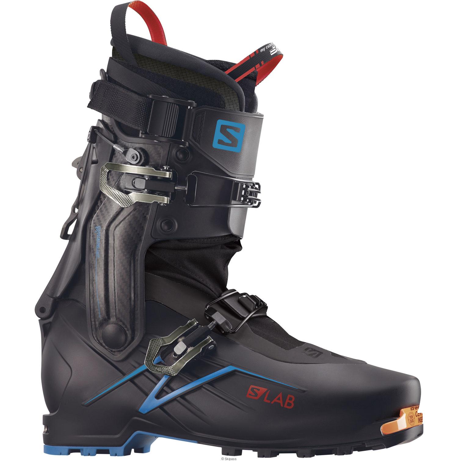 Test Salomon SLab X Alp 2020, avis chaussure ski Randonnée