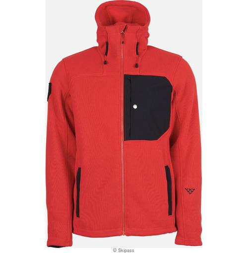 Black Crows Corpus polartec fleece hoodie