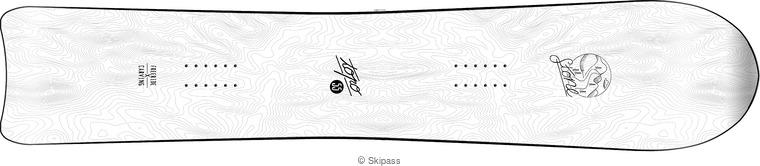 Stone snowboards Topo