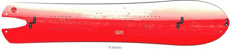 Stone snowboards Hakuba split
