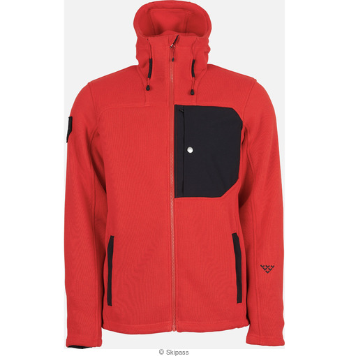 Black Crows Corpus polartec fleece hoodie
