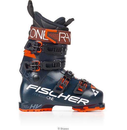 Fischer Ranger One 130 Vacuum Gripwalk