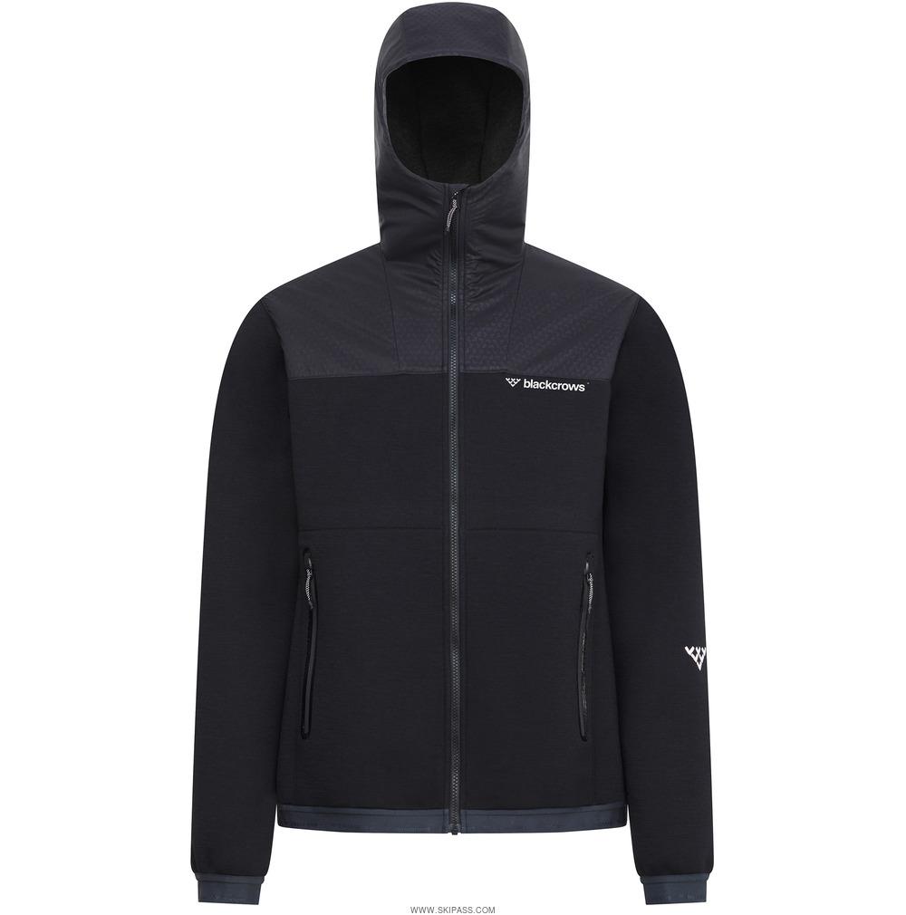 Black Crows Ferus tech wool hoodie