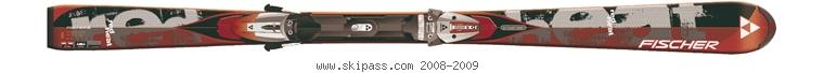Fischer Red Heat Railflex SP