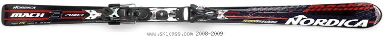 Nordica Speedmachine Mach 3 Power XBI CT