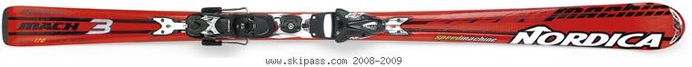Nordica Speedmachine Mach 3 XBI CT
