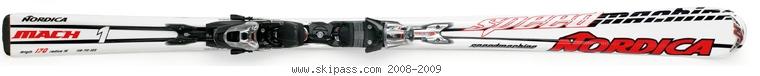 Nordica Speedmachine Mach 1 XBI