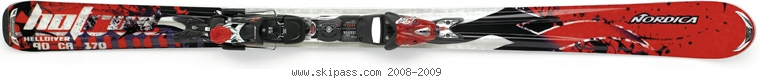 Nordica Hot Rod Helldiver XBI CT