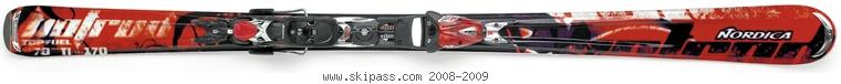 Nordica Hot Rod Top Fuel XBI CT