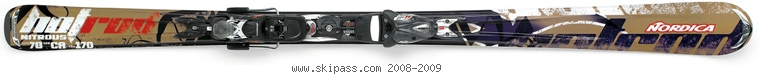 Nordica Hot Rod Nitrous XBI CT