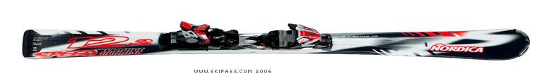 Nordica speedmachine 12.2 xbs
