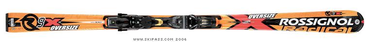 Rossignol Radical R9X Ti oversize