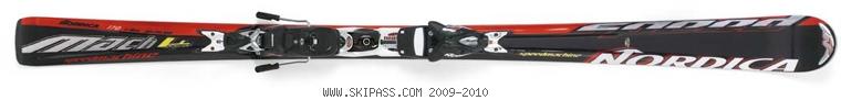 Nordica Speedmachine Mach 4 Power XBI CT
