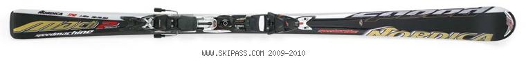 Nordica Speedmachine Mach 2 Power XBI CT