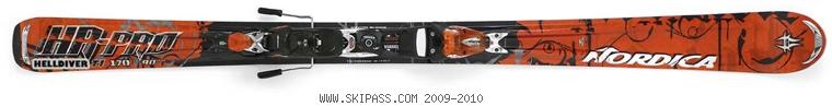 Nordica HR-Pro Helldiver Ti XBI CT