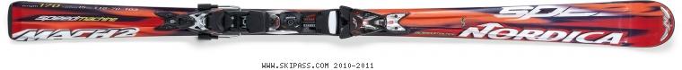 Nordica Speedmachine Mach 2 XBì CT